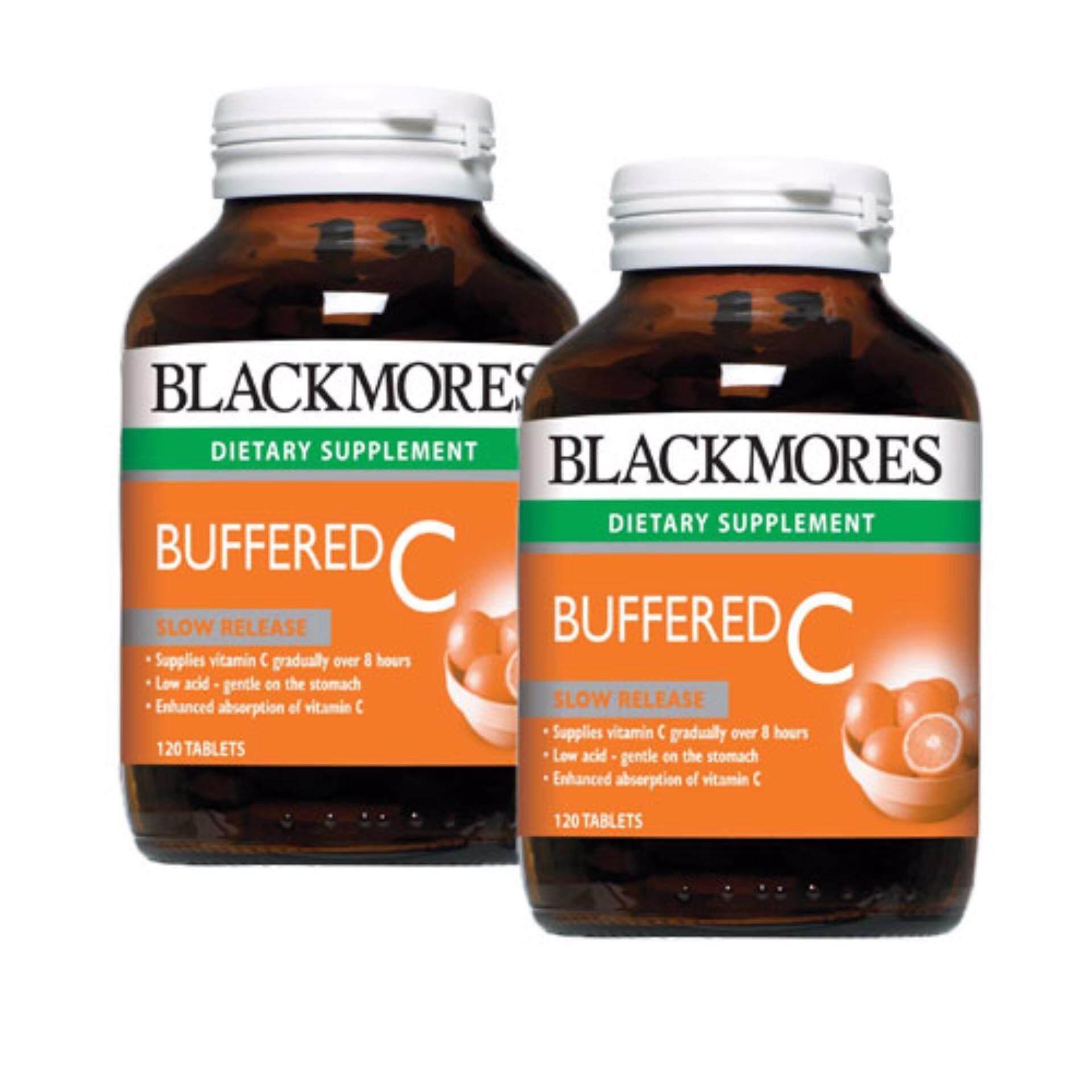 Blackmores Buffered C 120's x 2bottles