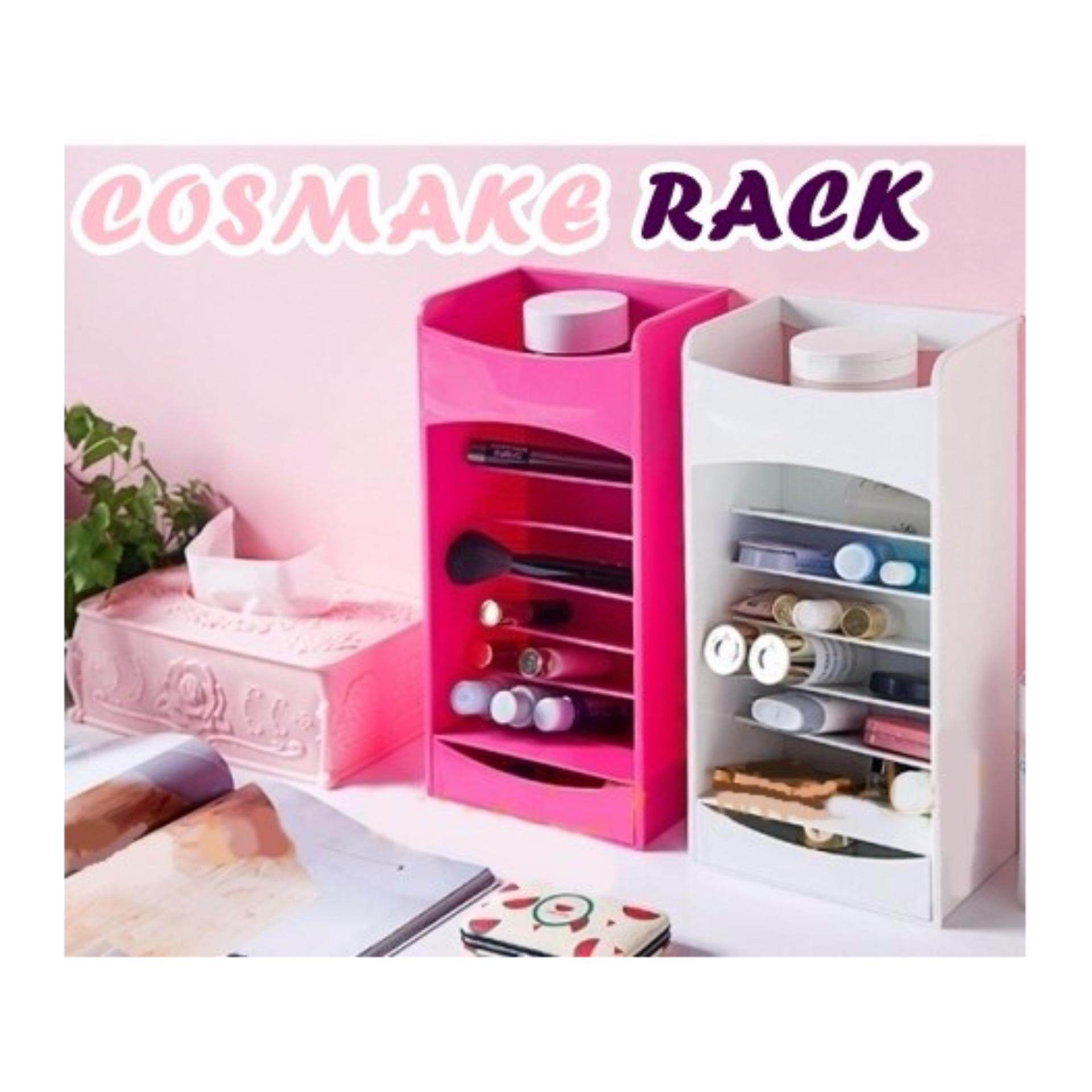 Beauty Cosmetic Markup Organizers Storage (White Colour)