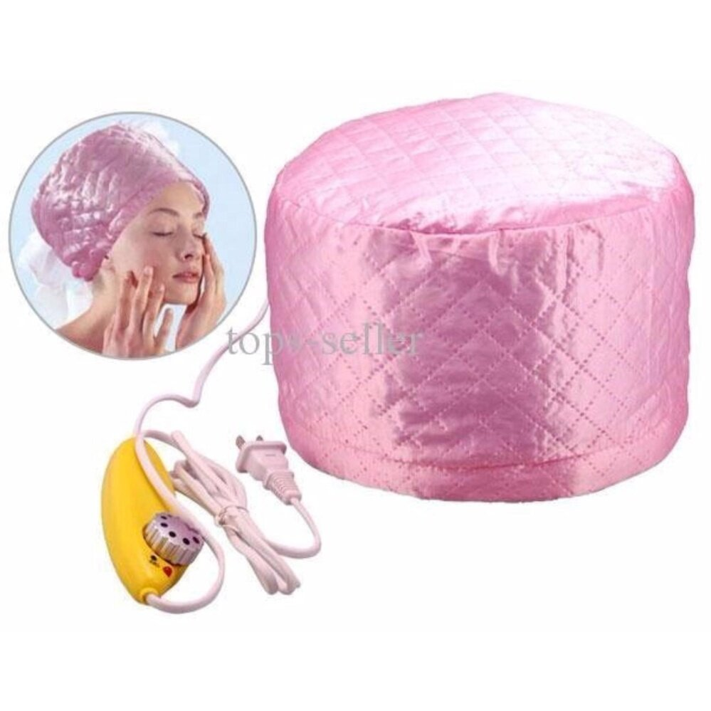 Electric Hair Thermal Treatment Beauty Nourishing Hair Care Hat Steamer SPA Cap