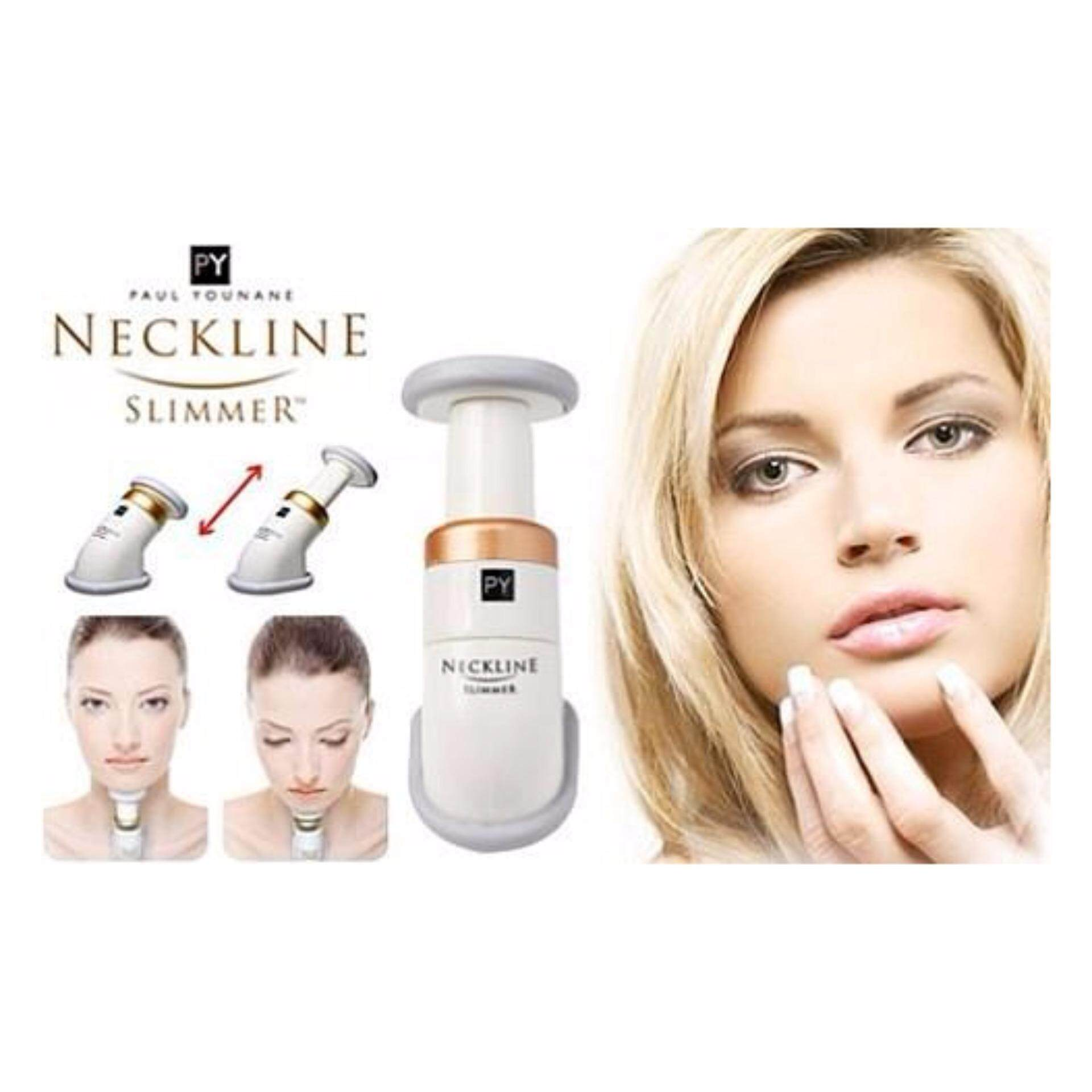 Neckline Slimmer Double Chin Massager 2 Minutes Neck Excercise Trimmer