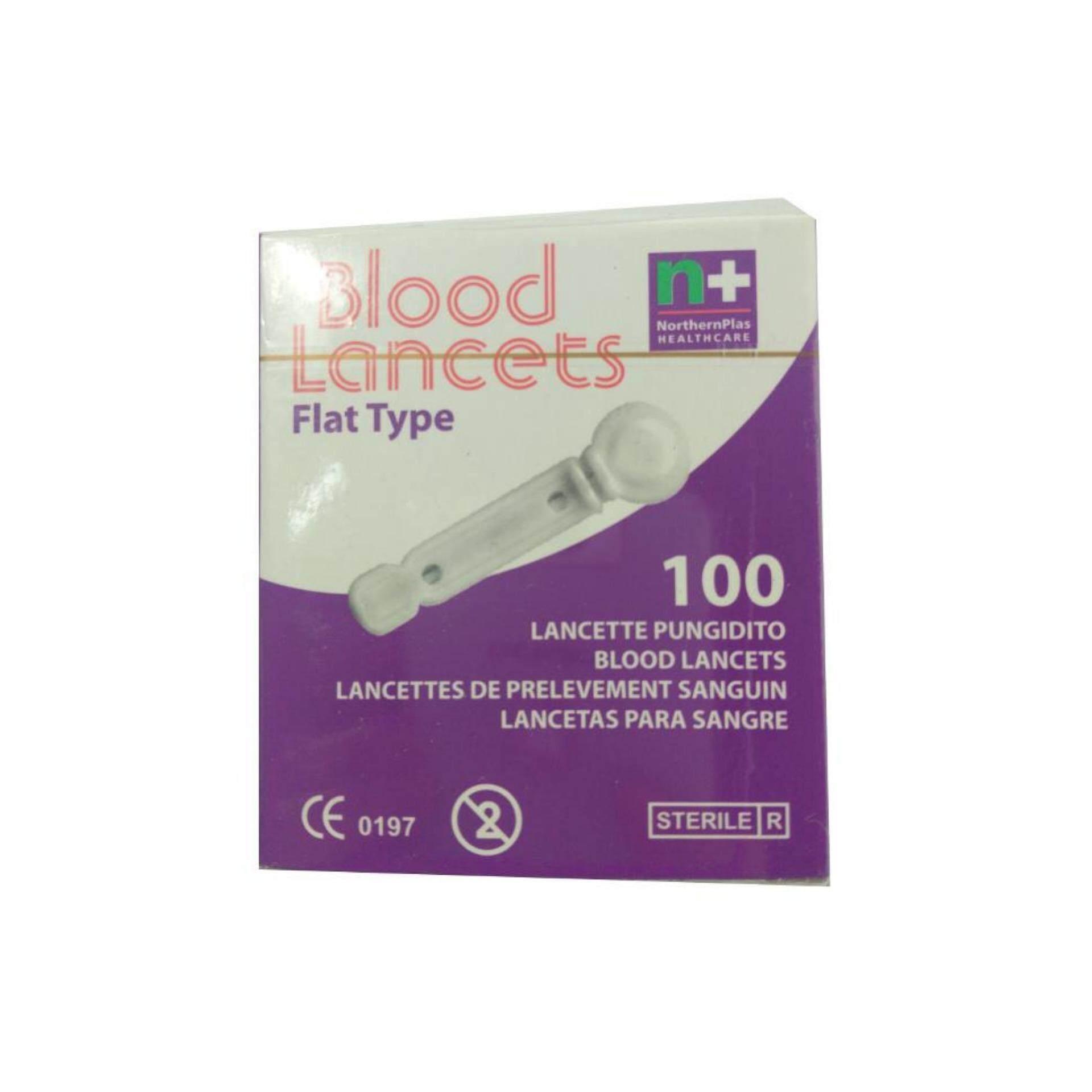 Blood Lancets Flat Type 100s