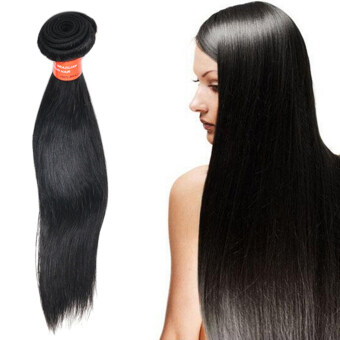 Harga Bluelans 8Inch 1 Bunch Straight Virgin Human Hair Natural Remy HairExtensions Wigs