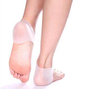 Buy 2 Free 2 Silicone Heel Socks Cracked Foot Skin Care Protector + Bunion Guard (