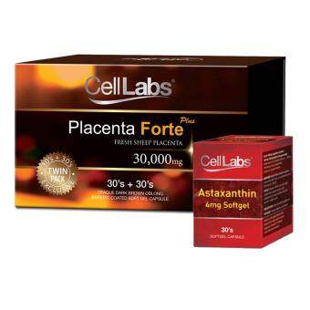 Harga Celllabs Placenta Forte Plus Blister 30's x 2