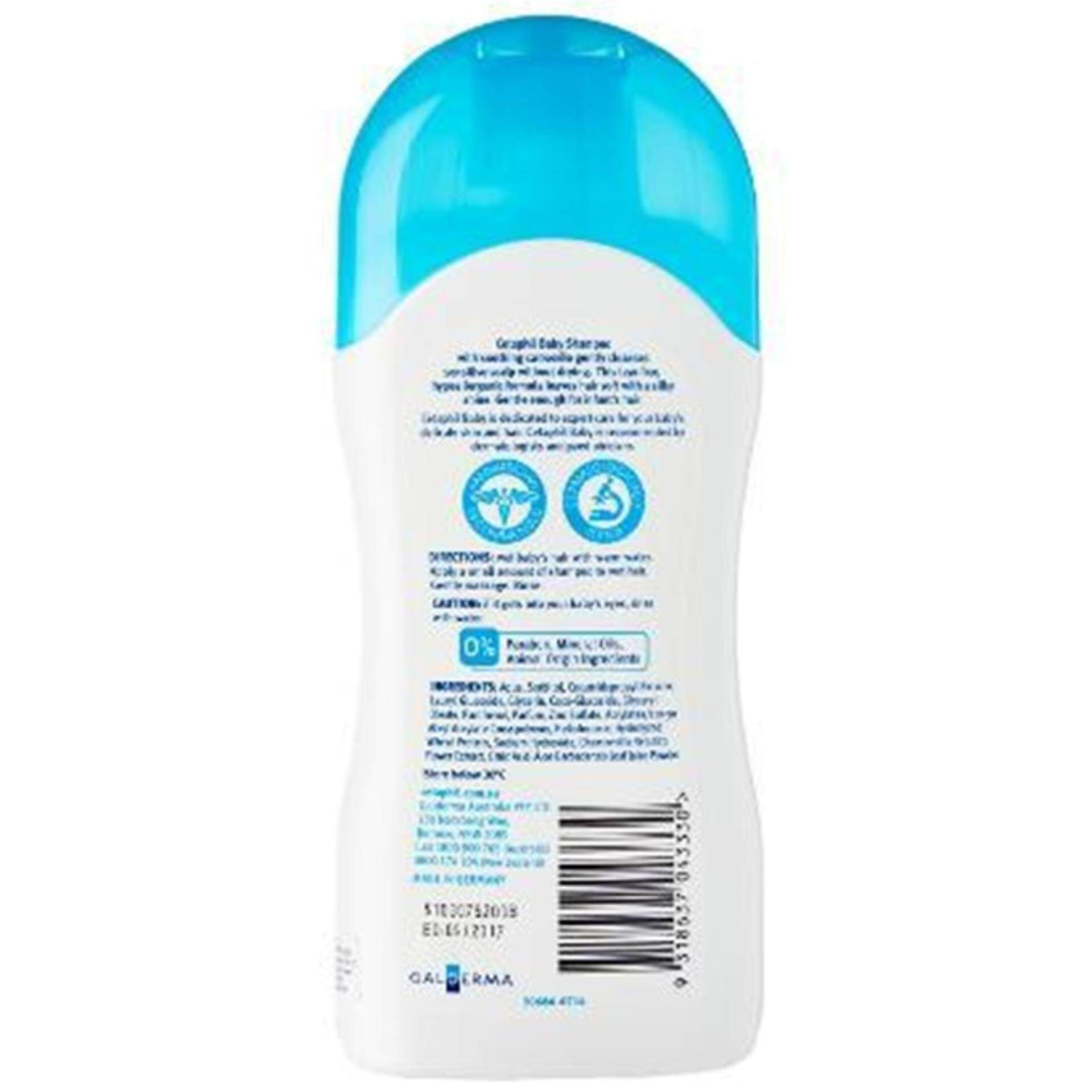 CETAPHIL BABY SHAMPOO WITH NAT CAMOMILE 200ML