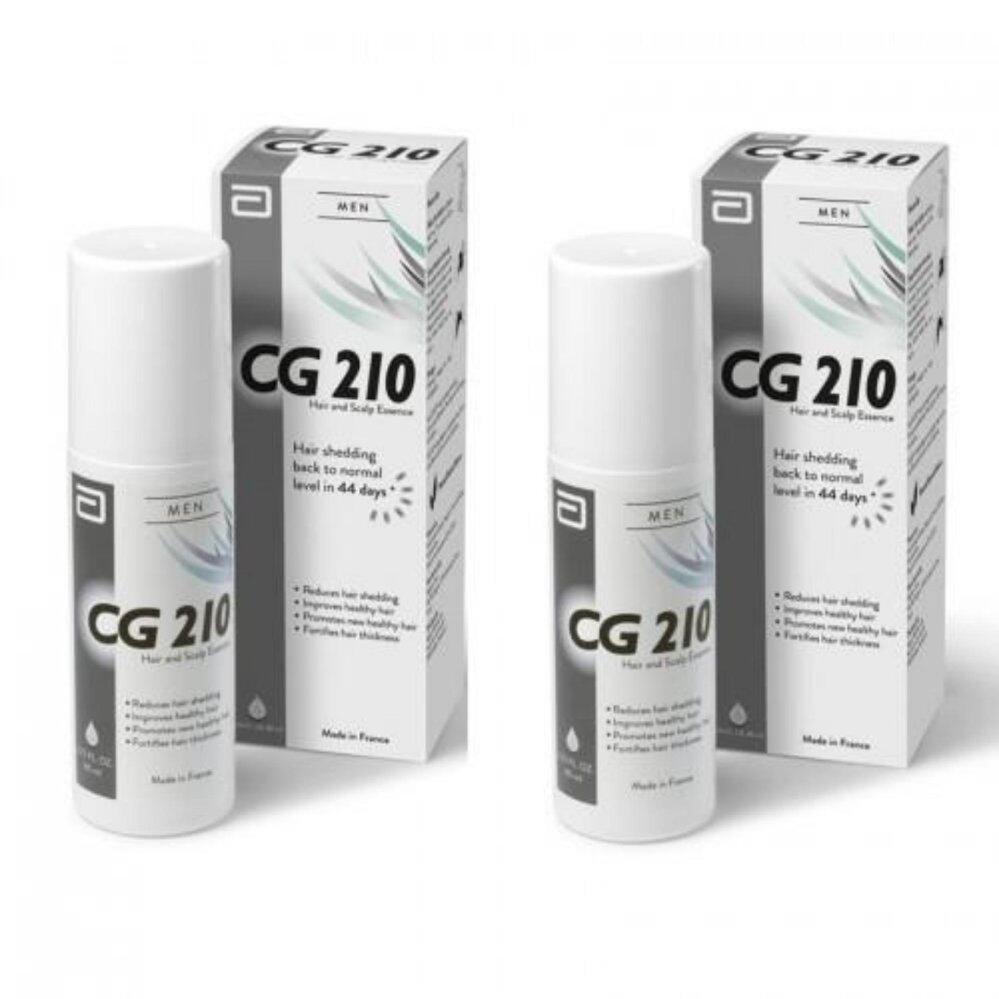 CG210 Anti Hair Loss and Scalp Essence for Men 80ml X 2 bottles