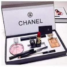 Chanel 5 in 1 Limited Edition set- Chance 15ml Perfume Coco Madmosile 15ml Perfume Mascara Eyeliner Pencil Lipstick