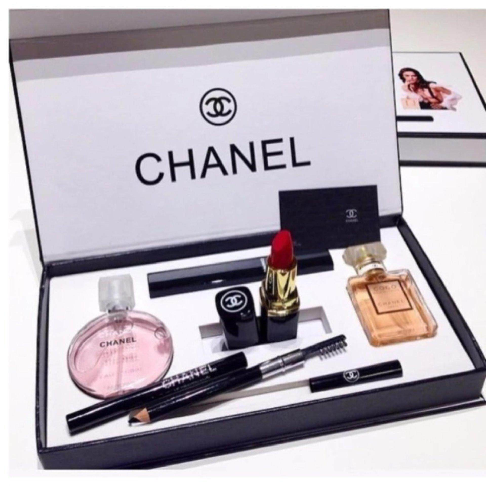 Chanel 5 in 1 Limited Edition Gift set- Chance Chanel 15ml Perfume ... e5db3b88e