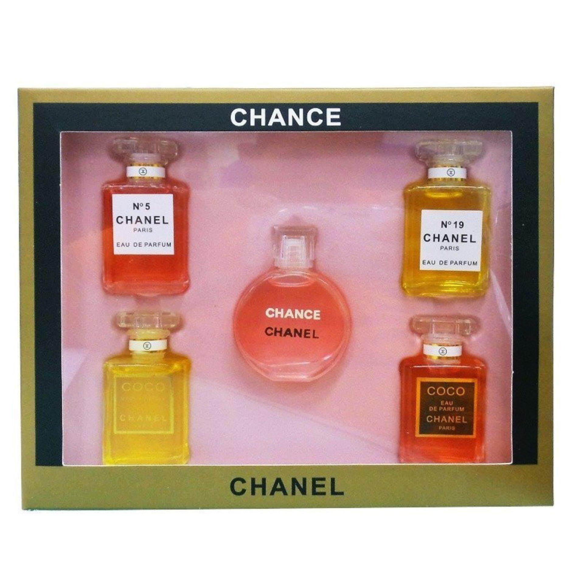 Chanel Travel Perfume Set Of 5 Clearance Sale Below Cost