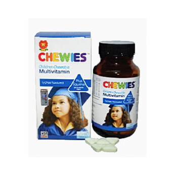 CHEWIES Children Chewable Multivitamin 250mg 60s 60S