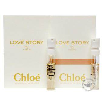 Chloe Love Story EDT & EDP 1.2ml Spray (Set of 2)