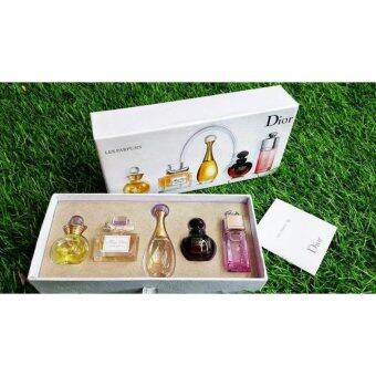 Harga Christian Dior 5 in 1 Perfume Miniature Set- Imported Sets(Clearance Way Way Below Cost )