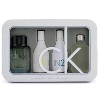 Harga CK 4 Pieces Miniature Perfume by Calvin Klein new Collection forMen & Women