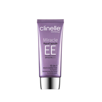 Harga CLINELLE Miracle Aqua Capsule EE 15-in-1 Multi Correction Cream Ivory 30ML