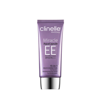 Harga CLINELLE Miracle Aqua Capsule EE 15-in-1 Multi Correction Cream Natural 30ml 30ML