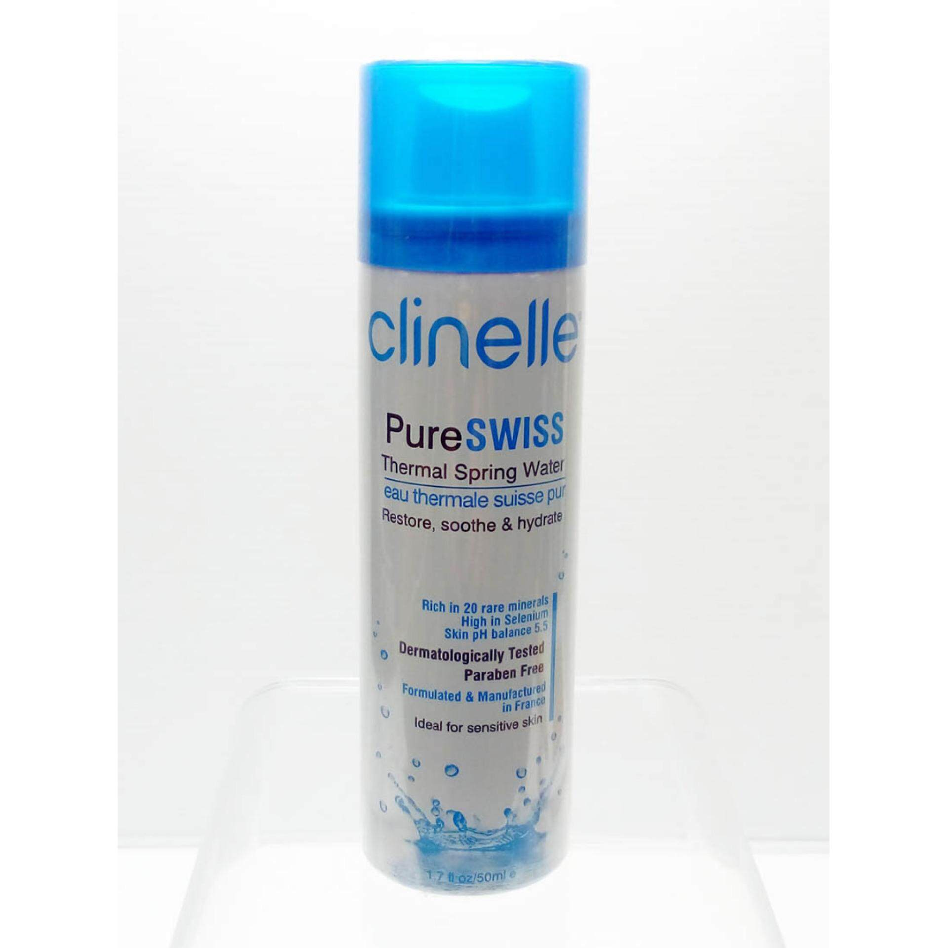 Clinelle Pure Swiss Thermal Spring Water 50ml X 1