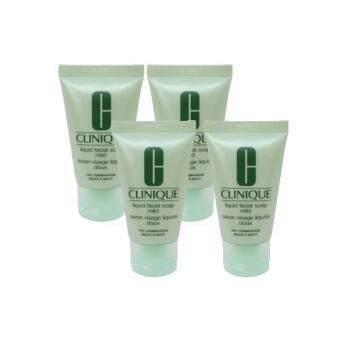 Clinique Liquid Facial Soap Mild Dry Combination (30ml) 4pcs