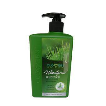 CLOVERS Wheatgrass Moisturizing Body Wash (500ml)