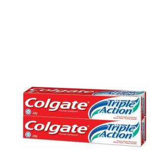 COLGATE Colgate triple action 2X200G