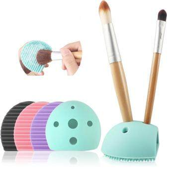 Colorful Heart Shape Clean Make up Brushes Wash Brush Silica GloveScrubber Board Cosmetic Cleaning Tools for Makeup Brushes