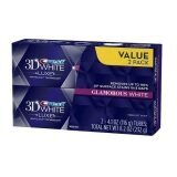 Crest 3D White Luxe Glamorous White Mint Whitening Toothpaste, 2 Pack