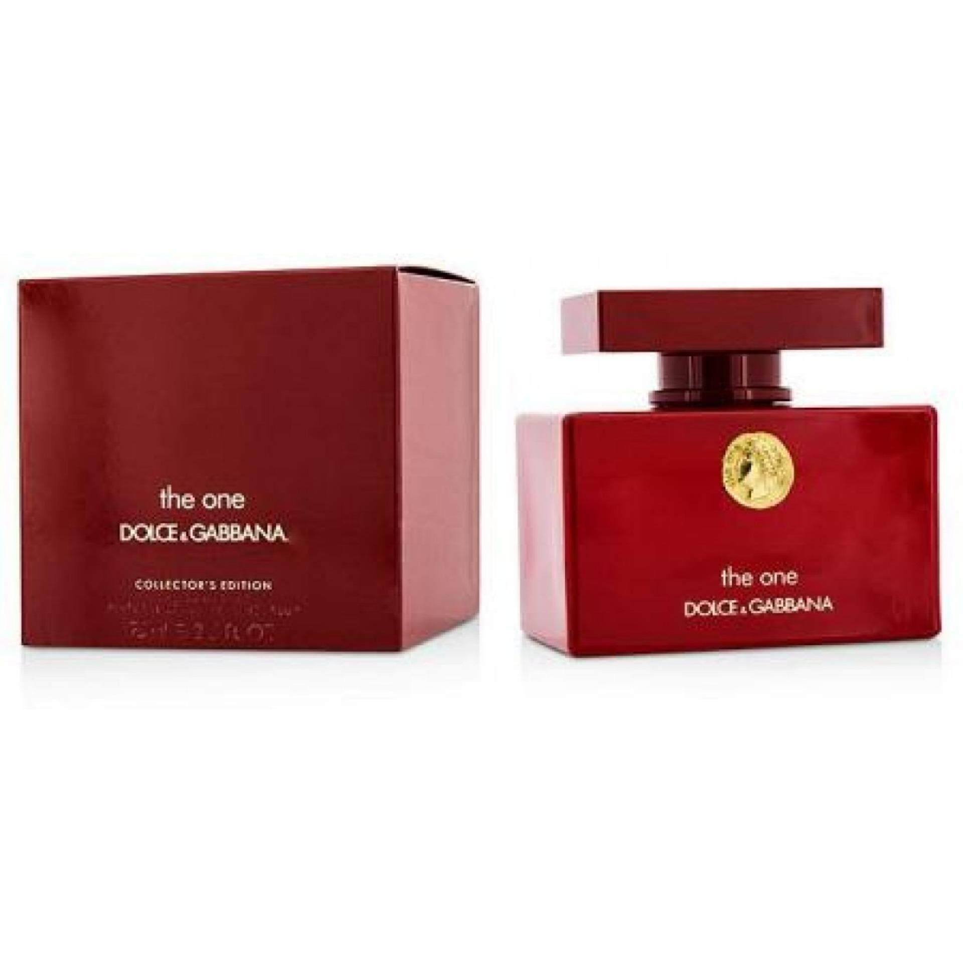D&G THE ONE COLLECTOR RED