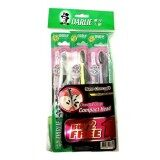 DARLIE Toothbrush Charcoal Clean Compact Head Buy 2 Free 1