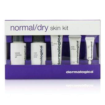 Harga Dermalogica Normal/ Dry Skin Kit: Cleanser + Toner + Smoothing Cream + Exfoliant + Eye Reapir 5pcs