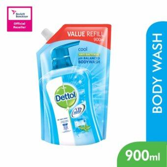 Harga Dettol BodyWash Cool 900ml Value Refill Pouch -3038618