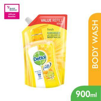 Harga Dettol BodyWash Fresh 900ml Value Refill Pouch -3038617