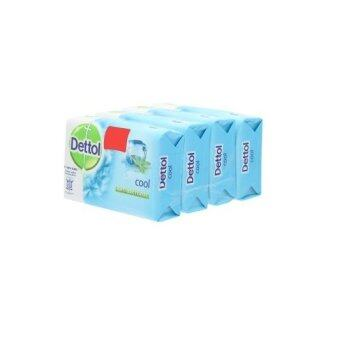 Harga Dettol Cool Anti-Bacterial Soap 105g Buy 3 Free 1