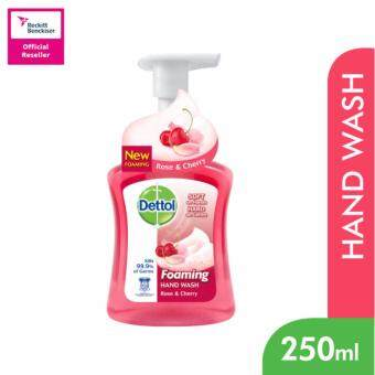Harga Dettol Foaming Hand Wash Rose&Cherry 250ml-3038605