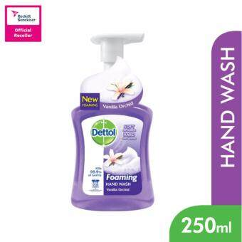 Harga Dettol Foaming Hand Wash Vanilla 250ml -3038603