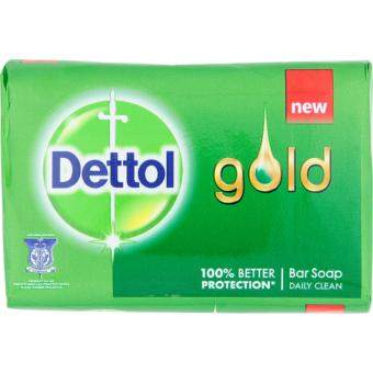 Harga Dettol Gold Daily Clean Bar Soap 3 x 105g