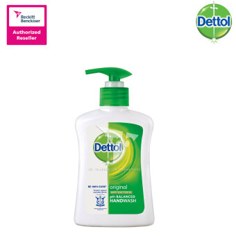 Harga Dettol Hand Wash Original 250ml - 8133427