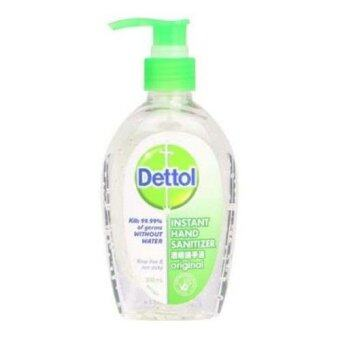 Harga Dettol Instant Hand Sanitizer Original 200ml