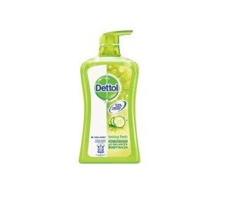 Harga Dettol Lasting Fresh Anti-Bacterial Body Wash 500ml