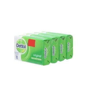 Harga Dettol Original Anti-Bacterial Soap 105g Buy 3 Free 1
