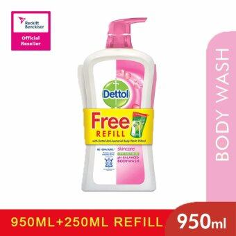 Harga Dettol Shower Gel 950ml+250ml Skincare