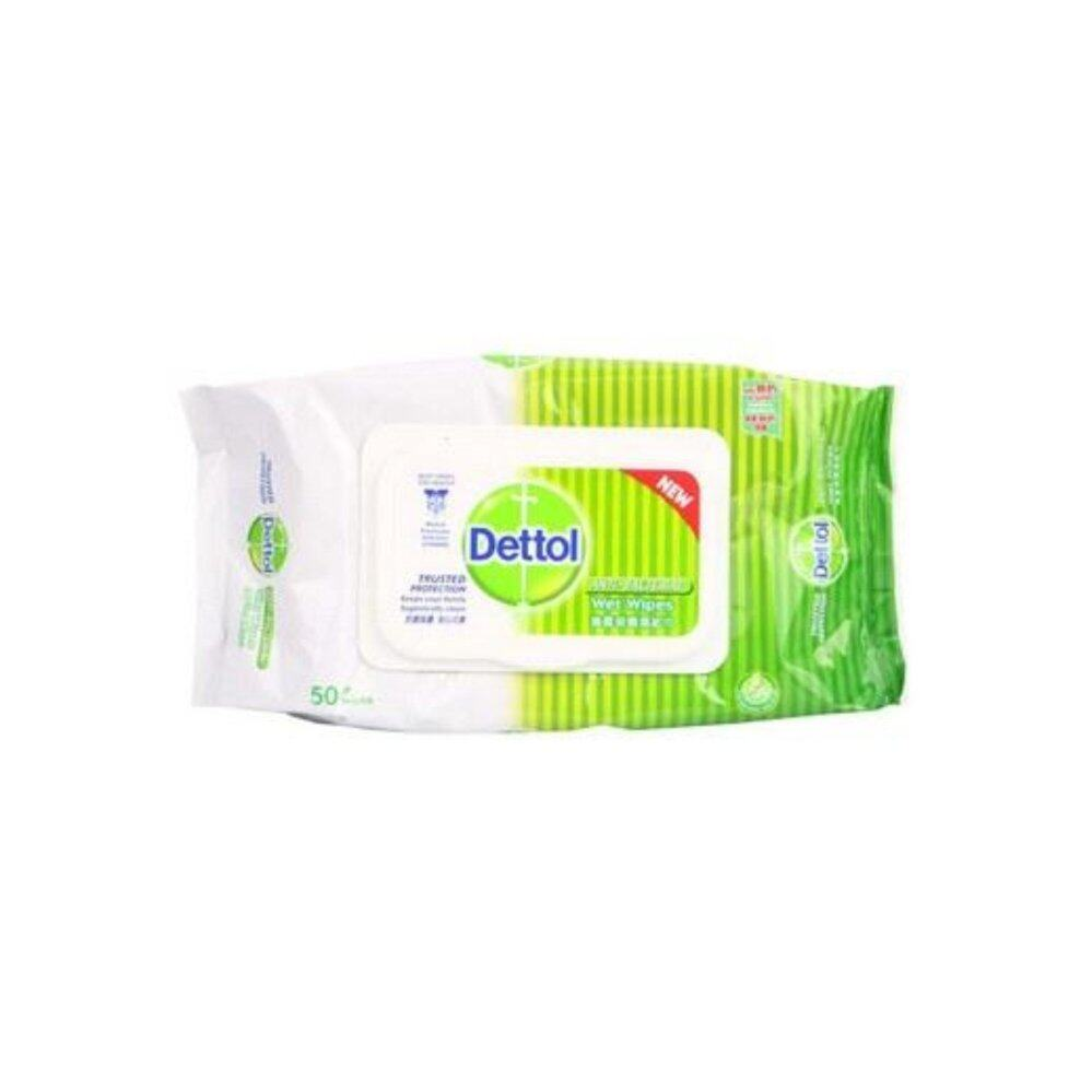 Dettol Wet Wipes Anti-Bacterial 50's x 2 packs