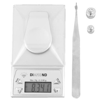 digital pocket scale gem jewel precision lcd display balance weight10g/0.001g