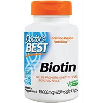 Doctor's Best Biotin 10000mcg Supplement for Hair Loss Problem120Caps