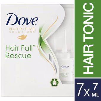 Harga Dove Nutritive Solutions Hair Fall Rescue Tonic 7 ml x 7