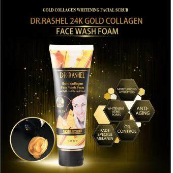 Harga DR-RASHEL GOLD COLLAGEN FACE WASH FOAM 120ML