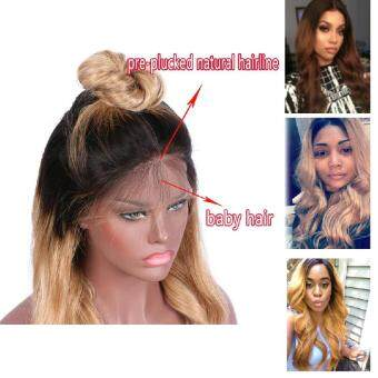 Dream Beauty Body Wave Ombre 27 Color For Lace Wig Non Remy Hair Brazilian Human