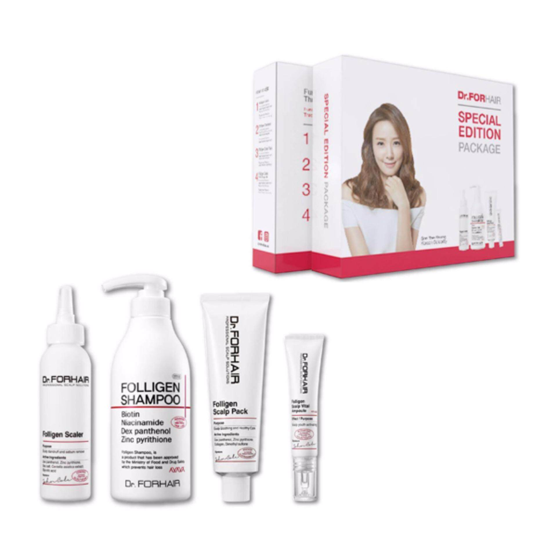 Dr.For Hair Anti-Hair Loss Value Set ( 4 items)