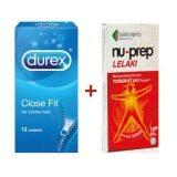 Durex Close Fit Condoms 12s + Nu-Prep Tongkat Ali 10s
