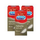 Durex Fetherlite Condoms 18s X 3 Boxes