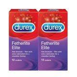 Durex Fetherlite Elite 12s Condom (Kondom) X 2