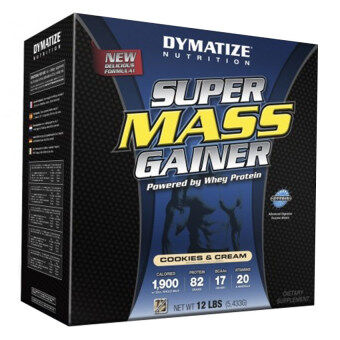 Harga Dymatize Super Mass Gainer 12 lbs Chocolate